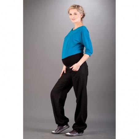 Bilbao Black Spodnie Materiałowe