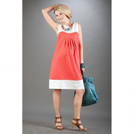 Gabrielle Coral Sukienki ciążowe na lato