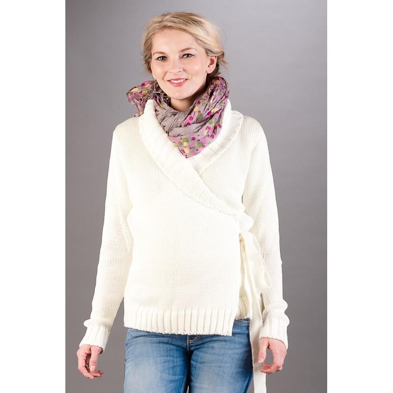 Eco Ecru Swetry i płaszcze