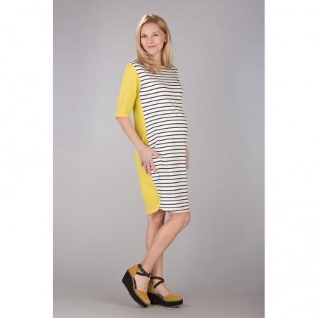 Seraphine Lime Sukienki ciążowe