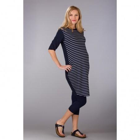 Seraphine Navy Sukienki ciążowe