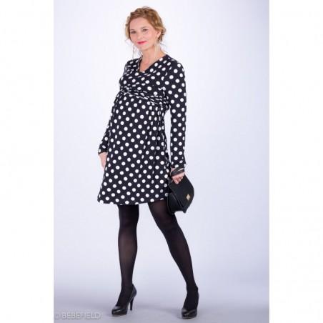Julianna Black White Sukienki do karmienia