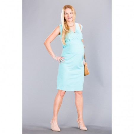 Giulia Blue Dots Sukienki do karmienia