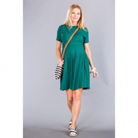 Helena Deep Green Sukienki ciążowe
