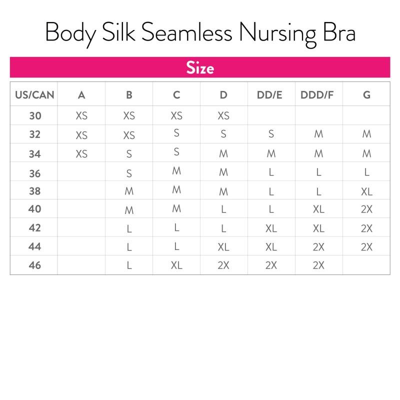 Stanik Body Silk Seamless - White Biustonosze do karmienia