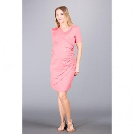 Sandrine Coral Rose Sukienki do karmienia
