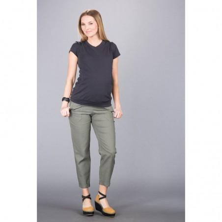 Torino Olive Spodnie Materiałowe