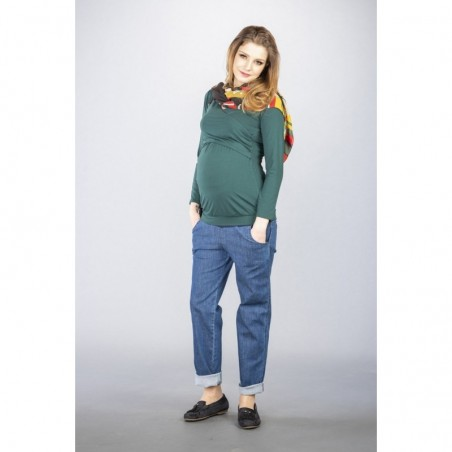 Milo Jeans Jeansy ciążowe