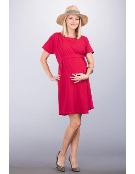 גלוריה אדום שמלות הריון