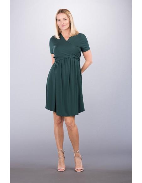 Pina Dark Green Sukienki do karmienia