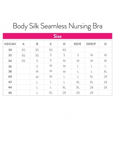 Stanik Body Silk Seamless - Black Biustonosze do karmienia