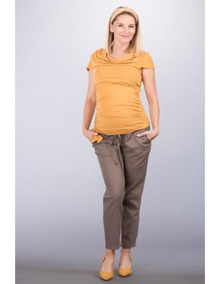 Patrizia Ochre Bluzki ciążowe
