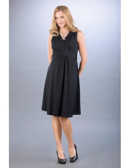 Lauren Black Sukienki do karmienia eleganckie