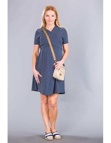 Pina Navy Dots Sukienki do karmienia