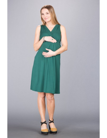 Rachel Deep Green Sukienki do karmienia