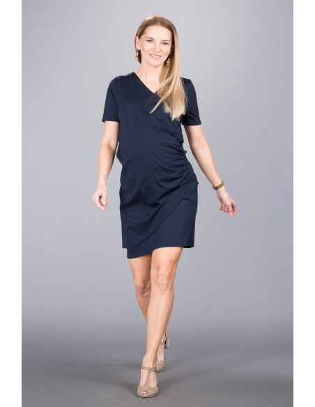 Sandrine Navy Sukienki do karmienia