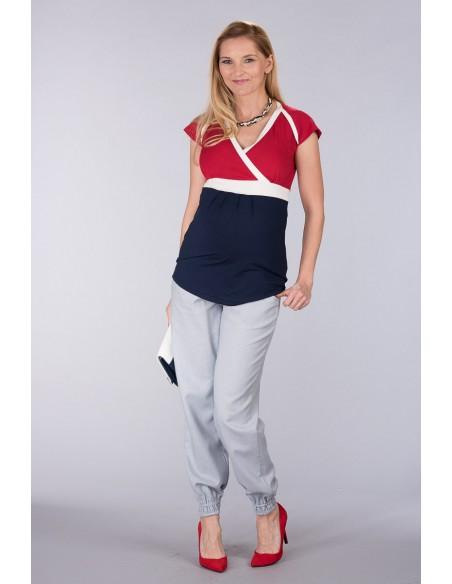 Lowa Grey Spodnie Materiałowe