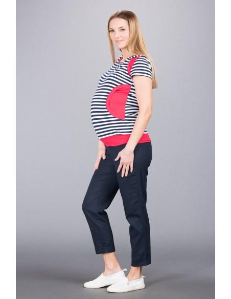 Torino Navy Spodnie Materiałowe