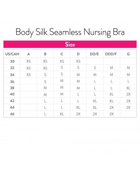 Stanik Body Silk Seamless -Silver Biustonosze do karmienia