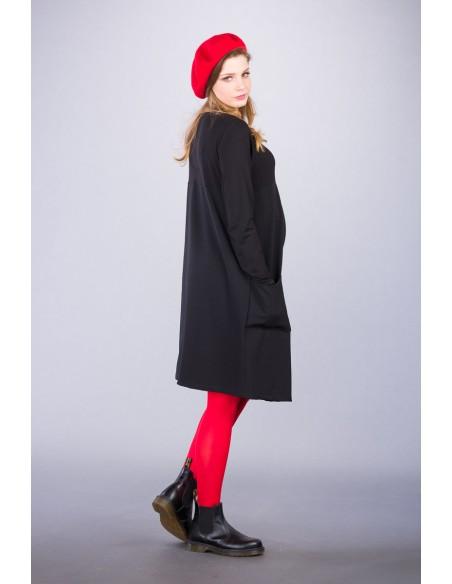 Catalina Black Sukienki ciążowe