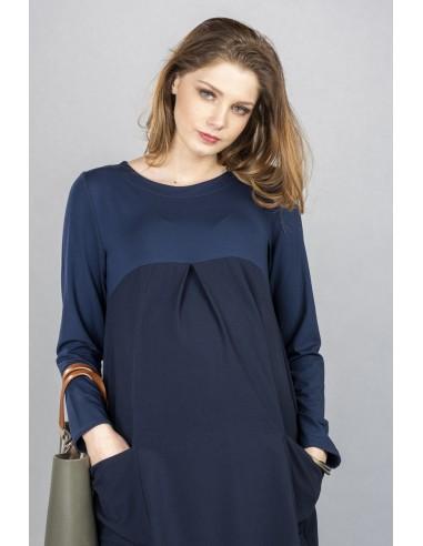 Catalina Navy Sukienki ciążowe