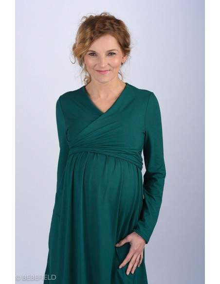 Julianna Deep Green Sukienki do karmienia