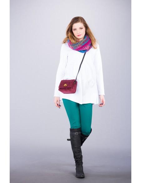 Mino Green Spodnie Materiałowe