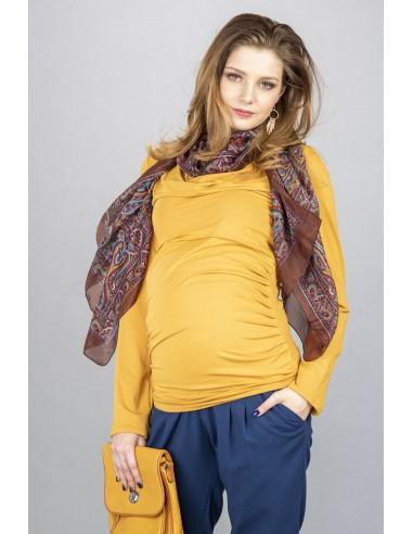 Vida Ochre Odzież i bielizna ciążowa