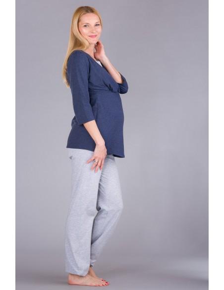 Wellness Blue Melange Bielizna i piżamy