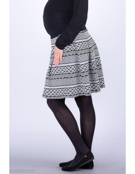Elsa Black White Spódnice