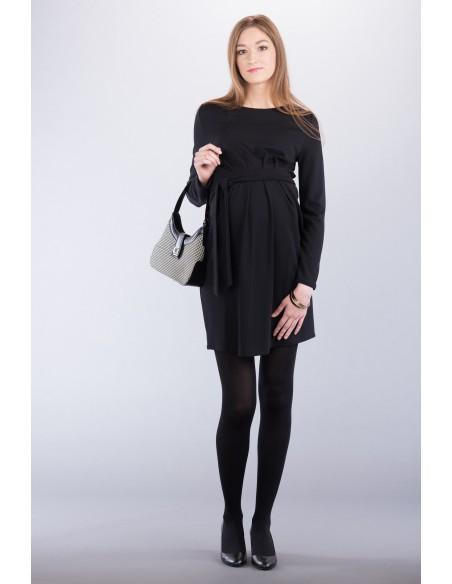 Adeline black Odzież i bielizna ciążowa