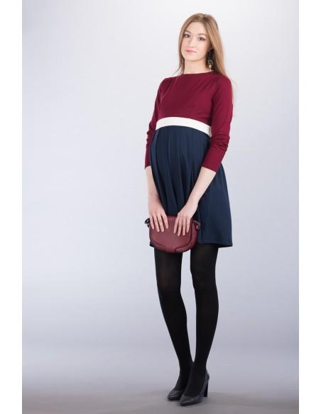 Greta claret Sukienki na co dzień