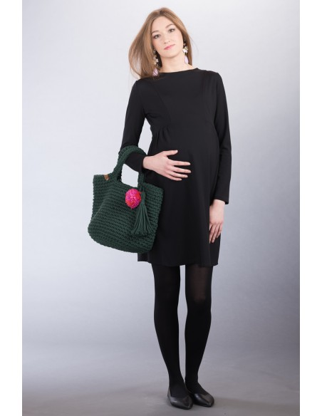 Ava black Odzież i bielizna ciążowa