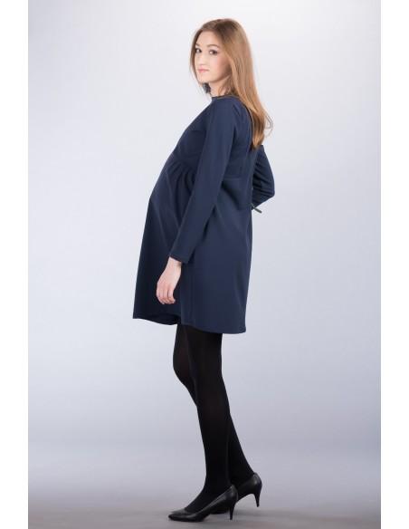 Ava navy Odzież i bielizna ciążowa