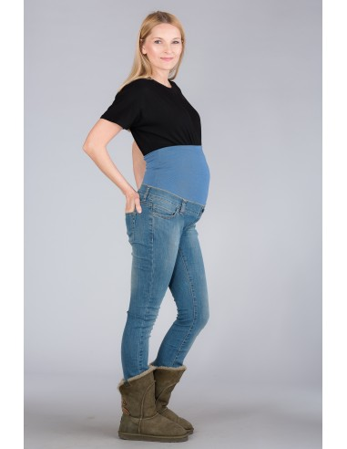 California Jeans Blue Jeansy ciążowe