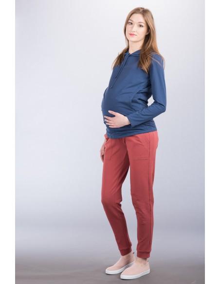 Fabio marsala Spodnie ciążowe
