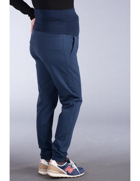 Fabio navy Spodnie ciążowe