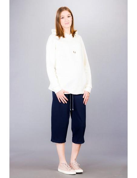 Marcello navy Spodnie ciążowe