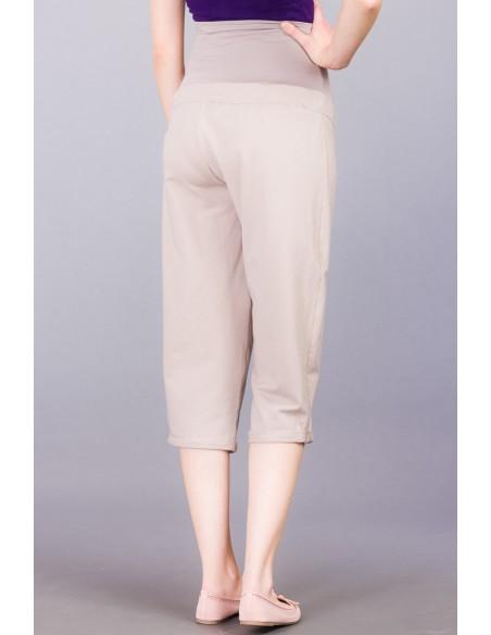 Marcello taupe Spodnie ciążowe