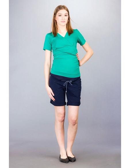 Pietro navy Spodnie ciążowe