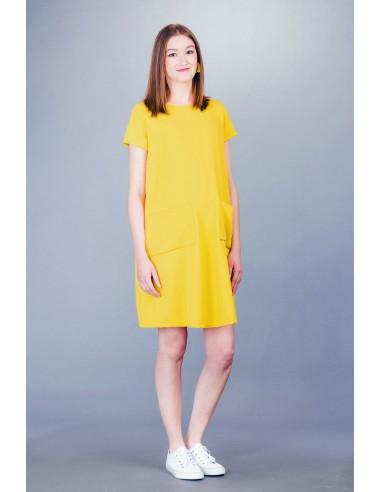 Ella yellow Sukienki ciążowe