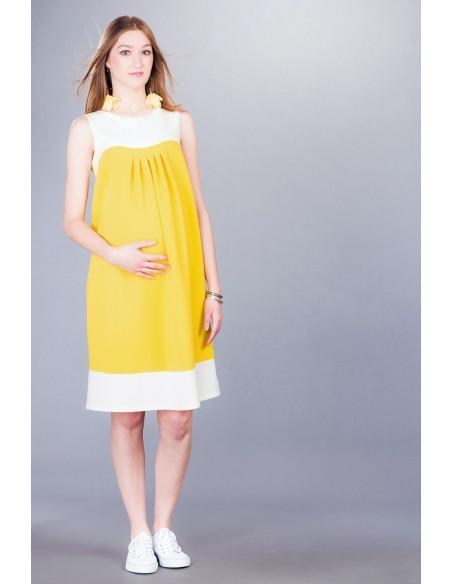 Virginia yellow Sukienki ciążowe