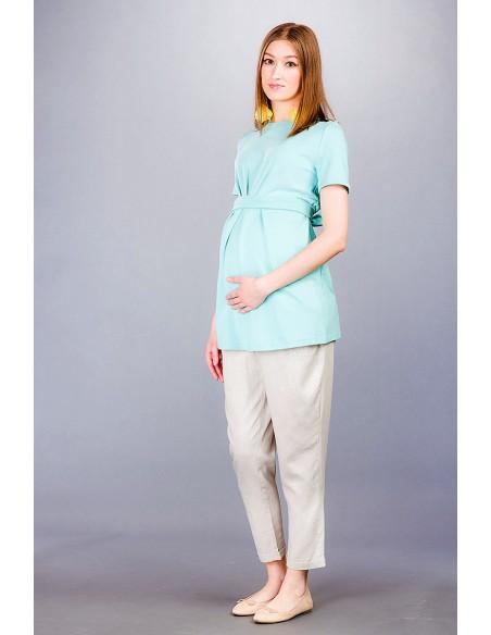 Flavio beige Spodnie ciążowe