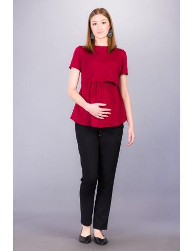 Harper black Spodnie ciążowe