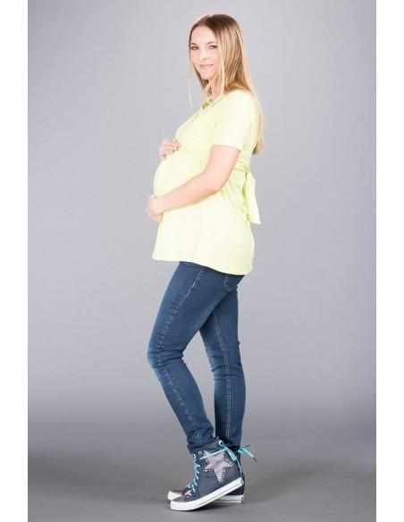 California Jeans Navy Jeansy ciążowe